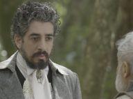 Novela 'Além do Tempo': Ariel leva Bernardo até o casarão e Emília fica furiosa