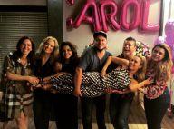 Carolina Dieckmann ganha festa surpresa de Angélica, Preta Gil e mais. Fotos!