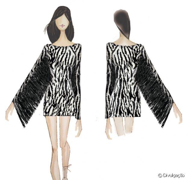 Ivete Sangalo se apresenta nesta sexta, dia 18 de setembro de 2015, no Rock in Rio com um modelito exclusivo da estilista Patricia Bonaldi. A mineira criou um look inspirado no rock com bordados de zebra e acabamento em franjas