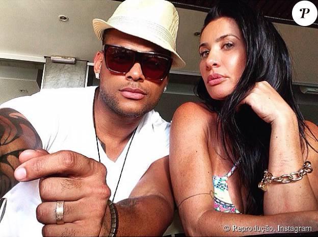 Scheila Carvalho e Tony Salles