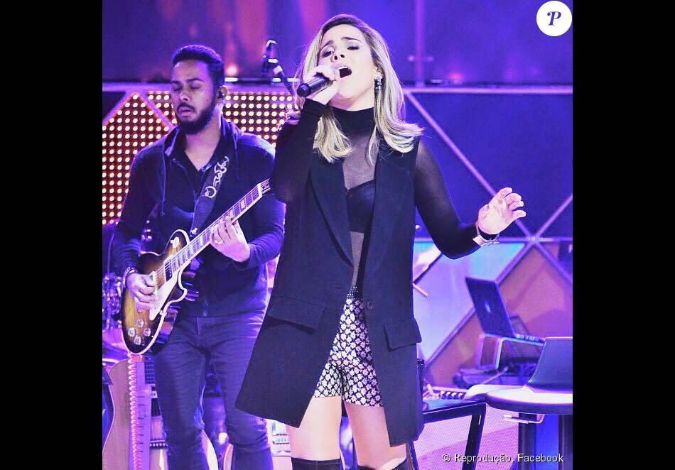 Wanessa fez a performance da música 'Wanna Be', em parceria com o produtor musical e DJ, Mister Jam, no Legendários deste sábado, 19 de setembro de 2015