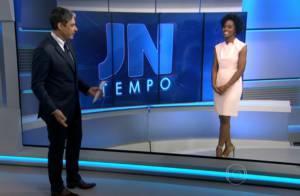 Bonner movimenta web ao perguntar estação favorita de Maju no 'JN':'Vídeo Show'