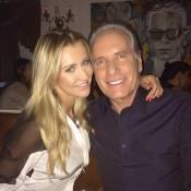 Roberto Justus confessa que diferença de 33 anos para Ana Paula Siebert incomoda
