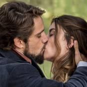 Novela 'Além do Tempo': Felipe e Lívia continuarão apaixonados na segunda fase