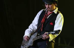Johnny Depp faz show no Rock in Rio com visual inspirado no pirata Jack Sparrow