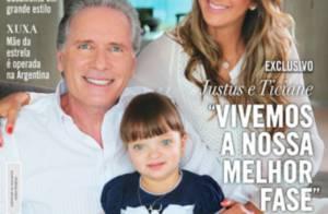 Rafaella Justus aparece ao lado dos pais após passar por cirurgia facial