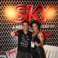 Os cantores Wilson Sideral e Luana Camarah, que participou do 'The Voice', também curtiram o quinto dia do festival