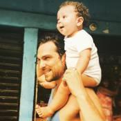 Igor Rickli comemora um ano do filho, Antonio: 'Enche meus dias de alegria'