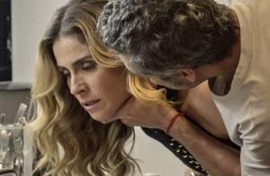 Novela 'A Regra do Jogo': Romero aponta arma para matar Atena. 'Quer morrer?'
