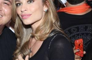No Rock in Rio, Grazi Massafera comenta elogio de Cauã Reymond: 'Fiquei feliz'