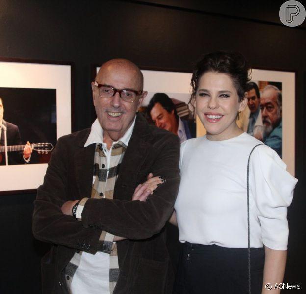 Após ter ficado dez meses separada de Hector Babenco, Bárbara Paz reatou seu casamento com o diretor de cinema