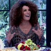 Ana Maria Braga usa peruca afro no 'Mais Você' e brinca: 'Parecendo a Gal Costa'