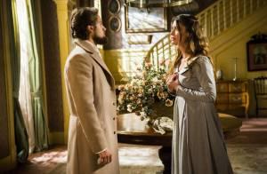 'Além do Tempo': Felipe descobre que Lívia (Alinne Moraes) é neta de Vitória