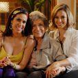 Em 'Insensato Coração' (2011), Nathalia Timberg interpretou a rica Vitória que era avó de Marina (Paolla Oliveira) e Bibi (Maria Clara Gueiros)