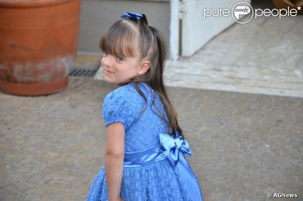 Rafaella Justus posa na comemoração do aniversário de 4 anos, em São Paulo