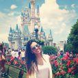 Mariana Rios esteve, em agosto de 2013, em Orlando para uma viagem a trabalho