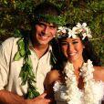 Daniele Suzuki e Fábio Novaes se casaram no Havaí em 2011