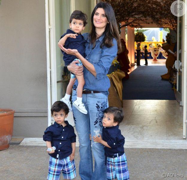 Isabella Fiorentino disse ao jornal 'Diário de S. Paulo', publicado nesta quarta-feira, 7 de agosto de 2013, que não pretende ter mais filhos