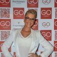 A apresentadora Ana Hickmann comentou a felicidade de estar grávida nas redes sociais