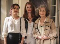Novela 'Além do Tempo': Lívia desabafa sobre Vitória com Anita. 'Dissimulada'