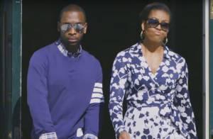 Michelle Obama canta e dança em gravação de rap e encanta fãs. Vídeo!