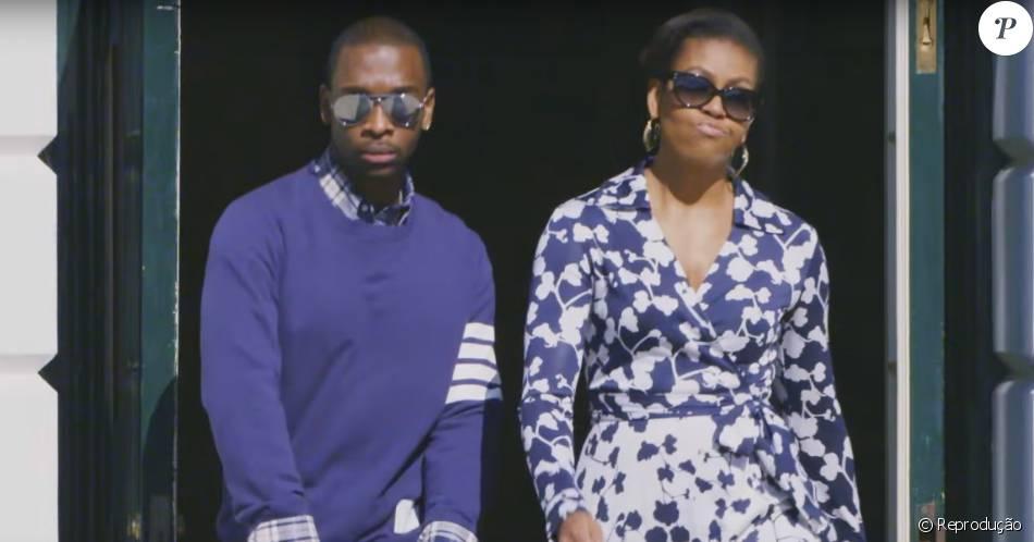 Michelle Obama grava Rap para incentivar estudo dos jovens americanos.
