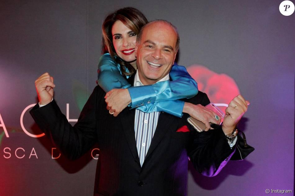 Luciana Gimenez e Marcelo de Carvalho estão casados há 9 anos e dormem em quartos separados