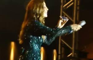 Ivete Sangalo liga para Anitta durante show e ouve pedido: 'Canta Bang?'