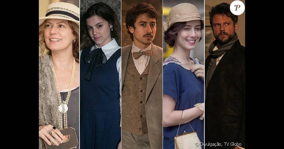 Confira o elenco e saiba quem é quem na minissérie 'Ligações Perigosas', que estreia nesta segunda-feira, 4 de janeiro de 2016