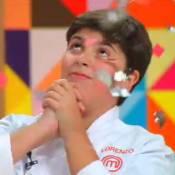 Vitória de Lorenzo no 'MasterChef Júnior' é aprovada por internautas: 'O melhor'