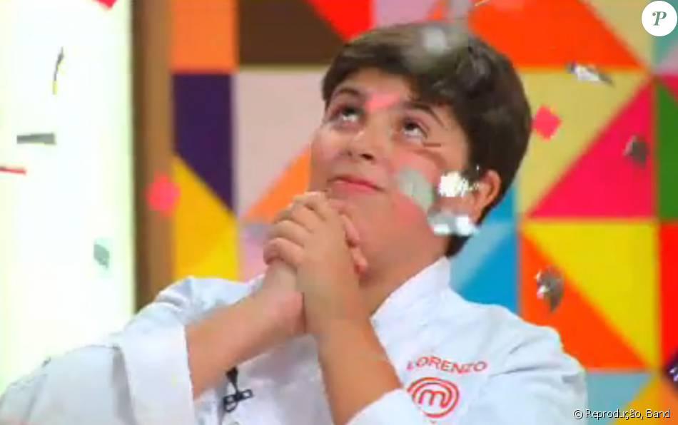Lorenzo venceu a primeira temporada do 'MasterChef Júnior'. Telespectadores aprovaram o resultado: 'Foi o melhor!'