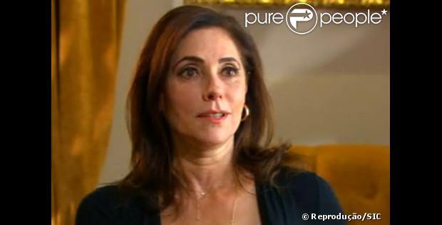 Christiane Torloni deu uma longa entrevista á emissora portuguesa SIC e falou que ainda sente a morte do filho