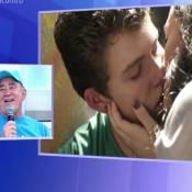 Renato Aragão evitou ver cena de beijo da filha Lívian na TV: 'Fui fazer xixi'