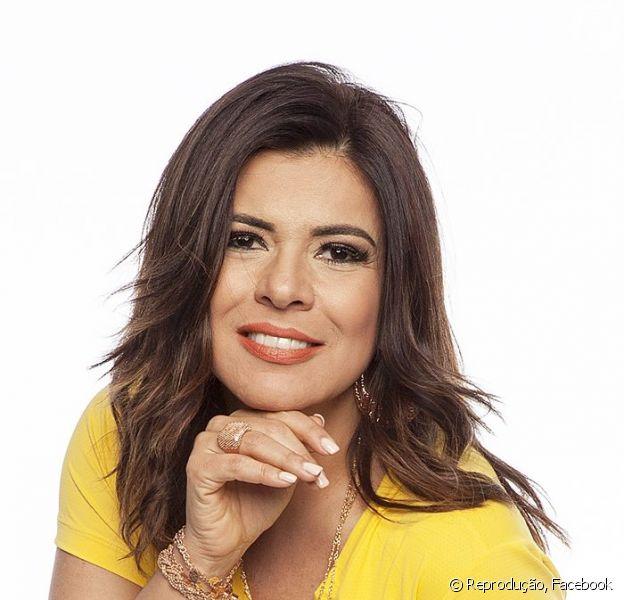 Mara Maravilha esteve no SBT em uma gravação com Silvio Santos na quarta-feira (16). A ex-apresentadora participou do 'Jogo das Três Pistas', exibido no 'Programa Silvio Santos'