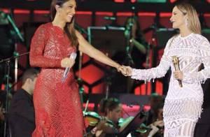 Ivete Sangalo e Claudia Leitte cantam juntas em show beneficente: 'Noite linda'