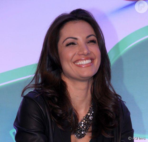 Patrícia Poeta, apresentadora do 'É de Casa', deixou a bancada do 'Jornal Nacional' para buscar o trabalho com entretenimento
