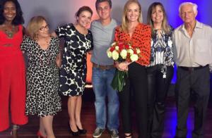 Mãe de Angélica elogia a apresentadora: 'Me emociona ver como ela é maravilhosa'
