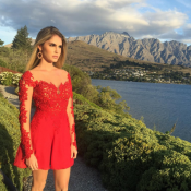 Bárbara Evans comemora Natal na Nova Zelândia durante férias: 'Aqui chega antes'