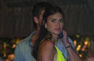 Thaila Ayala curte festa com o modelo francês Adam Senn em Trancoso. Fotos!