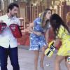 Fernanda Souza chuta Ana Furtado no 'Encontro' e pede: 'Boninho, não briga!'