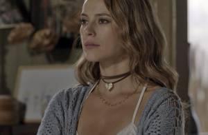 Novela 'Além do Tempo': Melissa garante que Felipe não terá a guarda de Alex