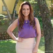 'Flor do Caribe': Suzana Pires volta à trama como Aurora, uma advogada cigana