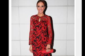 Ticiane Pinheiro escolhe vestido romântico para ir à festa de sua melhor amiga