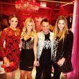 Ticiane Pinheiro vai à inauguração da loja La Rouge Belle