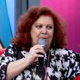 Beth Carvalho participou do programa 'Encontro com Fátima Bernardes' em agosto de 2013