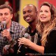 Em julho, Thiaguinho e Fernanda Souza anunciaram casamento no palco do 'Caldeirão do Huck'