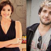 'Sangue Bom': Giane (Isabelle Drummond) e Fabinho (Humberto Carrão) se beijam