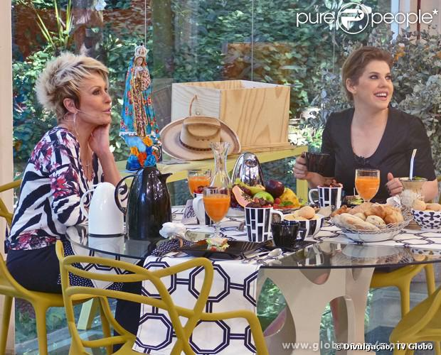 Bárbara Paz foi a convidada desta terça-feira, 03 de setembro de 2013, do programa 'Mais Você'