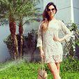 Mariana Rios está rodando o filme 'Orfãos do Eldorado'
