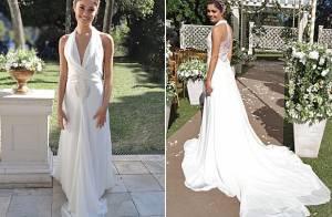 Confira os detalhes do vestido de noiva de Amora em 'Sangue Bom': 'Uma deusa!'